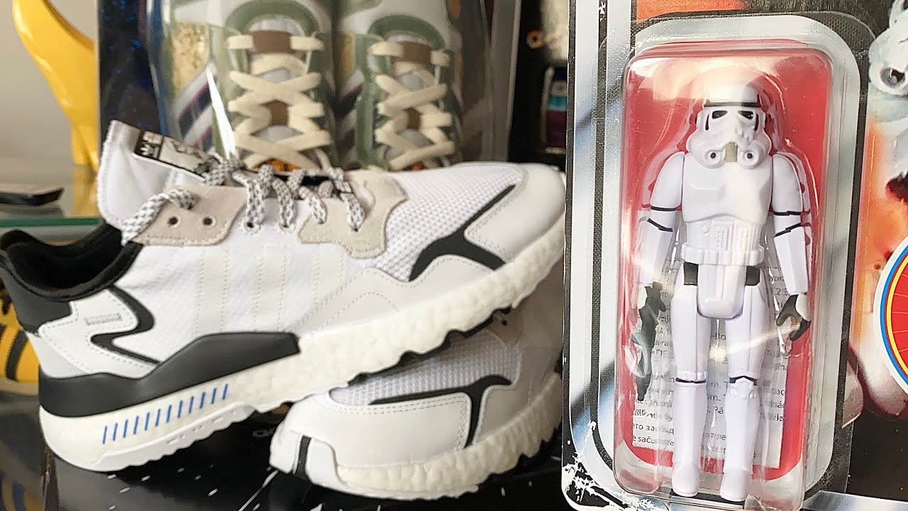 adidas NITE JOGGER STAR WARS STORMTROOPER   Unboxing   Review   On Foot