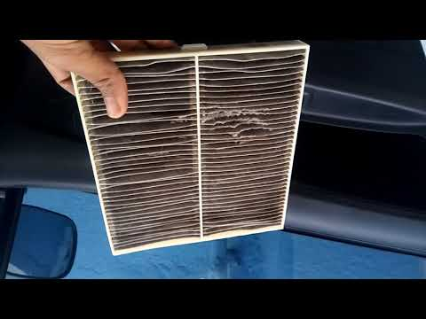 clean car ac filter in hindi wagonr at home easy tips