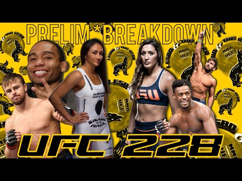 UFC 228 Breakdown & Fight Picks *JUST THE PRELIMS*