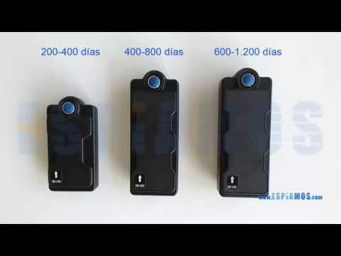 Localizador GPS WIFI KV05 3G SD 400 dias con microfono video