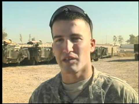 172nd Stryker Brigade in Iraq - Day Patrol in Mosul, 2005