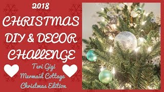 2018 Christmas DIY & Decor Challenge Collab with The DIY Mommy