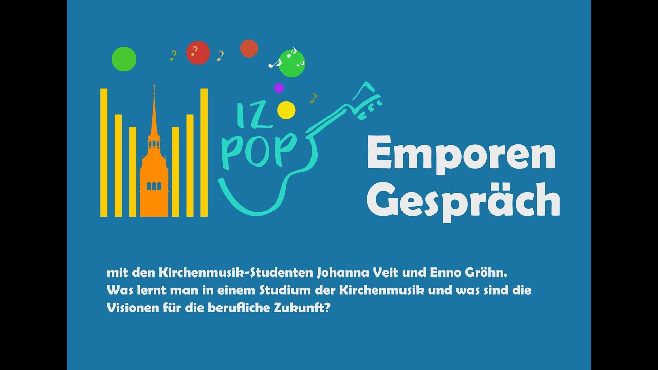 Emporengespräch: Kirchenmusik studieren