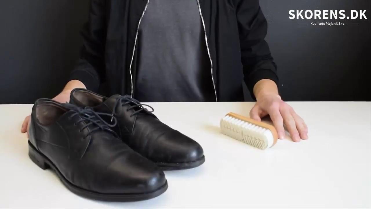 rengøring af lædersko