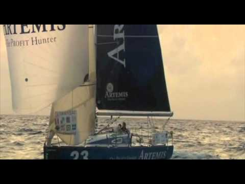 Mid-Atlantic chat with Sam Goodchild on Day 19 of the Transat AG2R