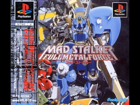 Mad Stalker - Full Metal Force PS1 Playthrough