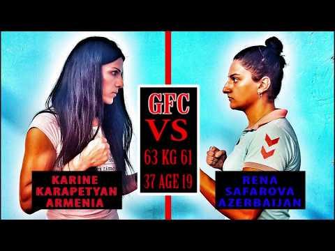 Karine Karapetyan(Armenia) vs Rena Safarova(Azerbaijan) HD