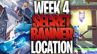 Fortnite Season 7 Week 4 secret Banner Fortnite Battle Royale Challenge