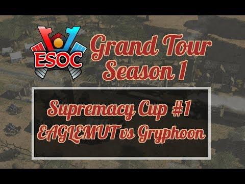[AoE3] ESOC Weekend Tournament #1 — RO32: EAGLEMUT vs Gryphoon
