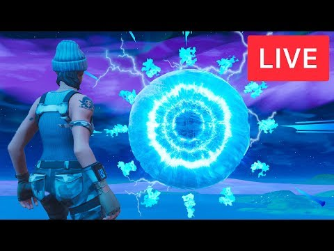 Download 🔴 FORTNITE SPHERE EVENT HAPPENING RIGHT NOW AT POLAR PEAK! Ice Storm Event (Fortnite Battle Royale)
