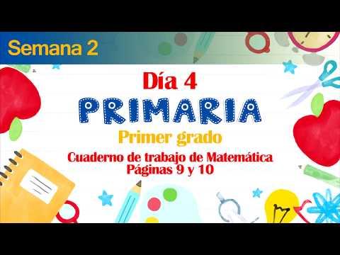 #yoaprendoencasa-|-s.-2-día-4-primaria-primer-grado,-páginas-9-y-10-del-cuaderno-de-matemática