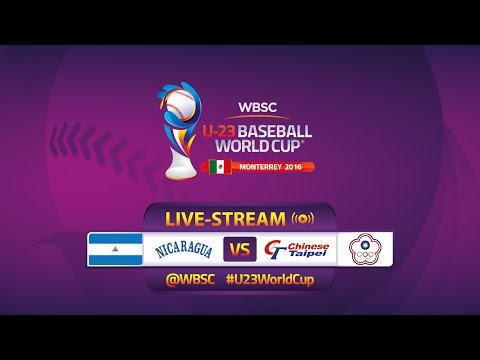 No. 4 Chinese Taipei v No. 18 Nicaragua - U-23 Baseball World Cup 2016 - Gm 20