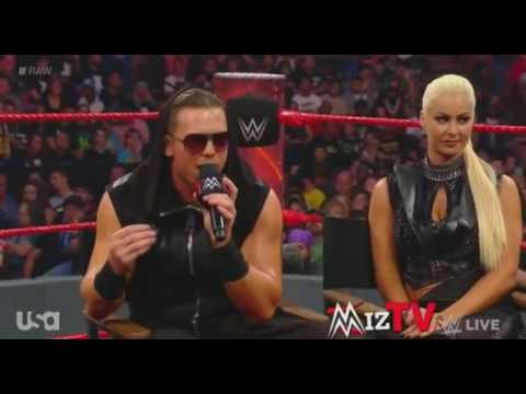 Miz TV - Hardy Boyz And Dean Ambrose Interrupt Miz TV - 29 May 2017