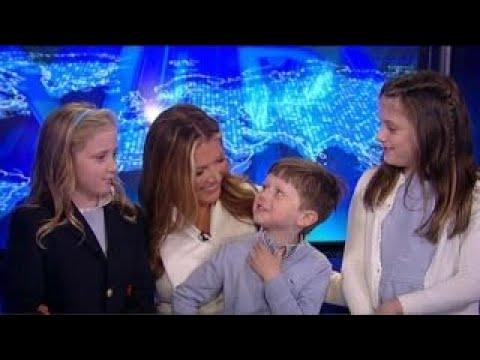 Trish Regan celebrates 'Take Your Children to Work Day'