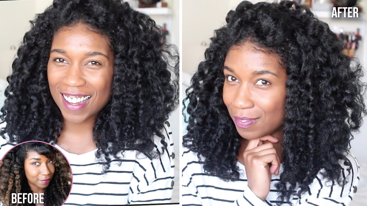 Back To Black Dying Natural Hair At Home Box Dye Demo