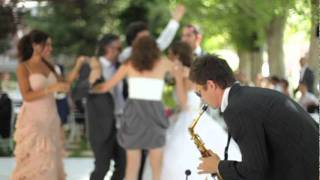 Saxophonist Nikita Ferra | Wedding Video
