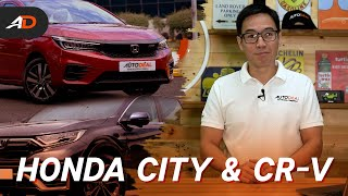 2021 Honda City & CR-V Launches in the Philippines - Behind a Desk