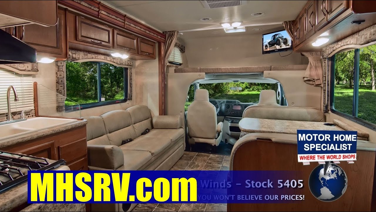 2013 four winds bunk model class c rv review at motor home for Motor home specialist reviews