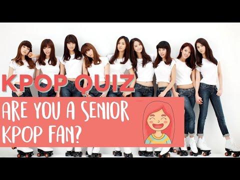 KPOP Quiz: Are you a senior fan?
