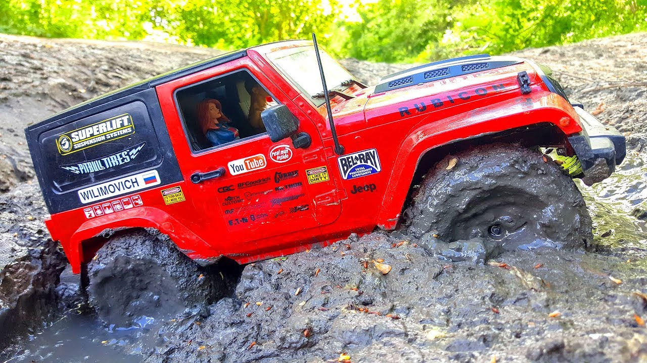 DEEP MUDDY in HOOD TROUBLE Jeep Wrangler Rubicon MST CFX | Wilimovich
