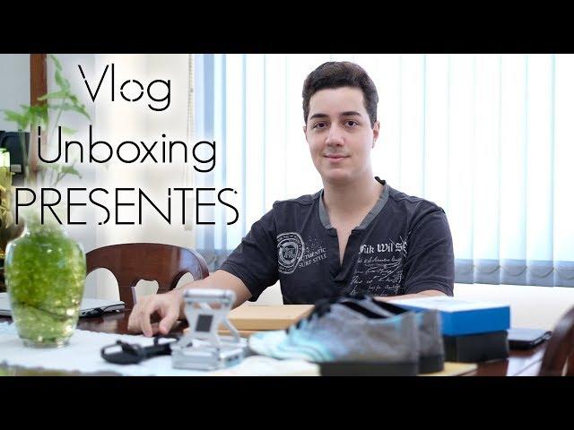 Unboxing Presentes! - Tênis da Dobra, GameSir e JisonCase!!