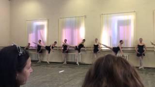 МГКИ гос. экзамен класса хореографии.
