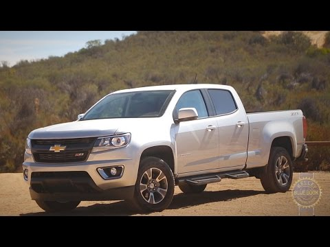 2016 Chevy Colorado and GMC Canyon - Review and Road Test