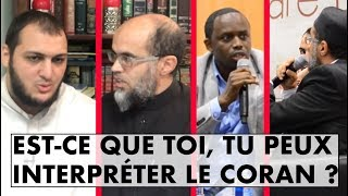 QUI EST CAPABLE D'INTERPRÉTER LE CORAN ? - IMAM BOUSSENNA