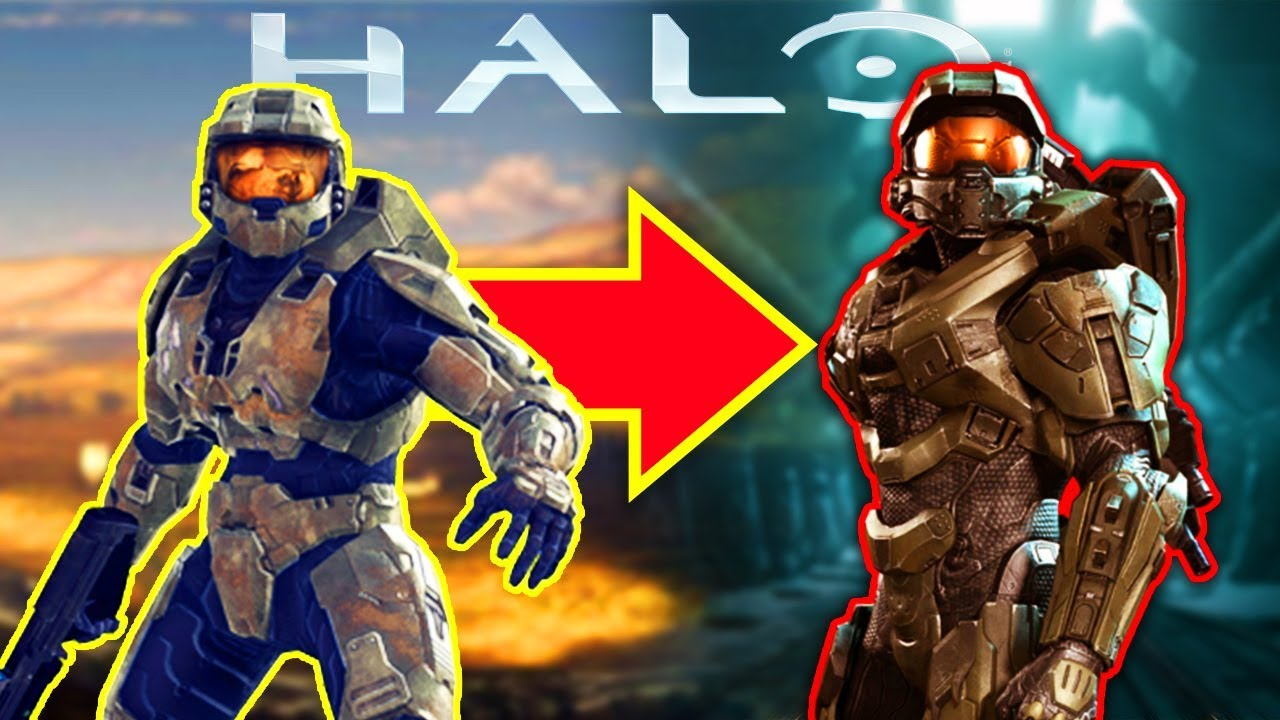 How Did Master Chief S Armor Change Halo 3 4 The Real Reason Halo Lore Youtube