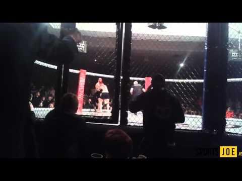 Footage from Joao Carvalho vs Charlie Ward fight at TEF1Dublin (09.04.16)