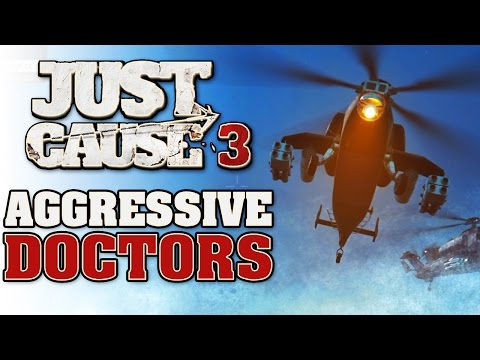 Just Cause 3 Gameplay - Aggressive Doctors - Just Cause 3 Settlement Liberation Vigilator Nord
