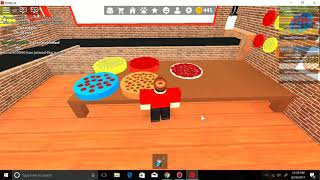 Roblox Work At A Pizza Place with camjam650