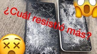 Destruyendo celulares ¿Cuál resistió más? 🤷🏻♂️