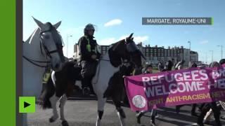 White Lives Matter tient sa première manifestation au Royaume-Uni