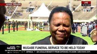 Naledi Pandor pays tribute to Robert Mugabe