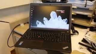 ThinkPad EDGE 540 i5 4200M review