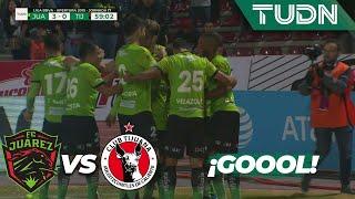 ¡Pero qué golazo!| Juárez 3 - 0 Tijuana | Liga MX - Apertura 2019  - Jornada 17 | TUDN