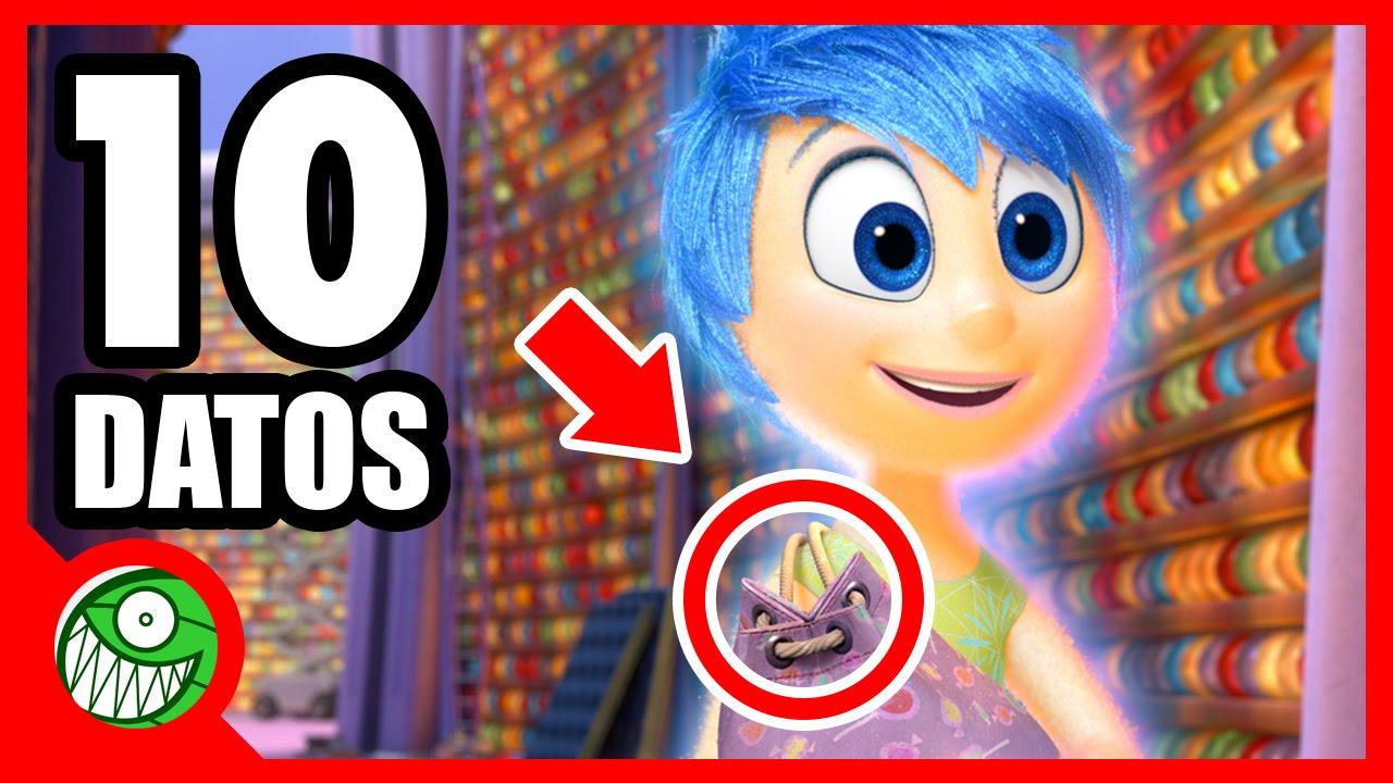 10 Curiosidades Sobre Intensamente Youtube