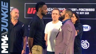 UFC Fight Night 140: Main card fighters face off at media day