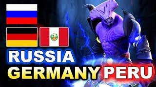 RUSSIA vs GERMANY + PERU - (Virtus.pro squad) WESG 2018 DOTA 2