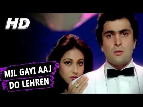 Mil Gayi Aaj Do Lehren  Asha Bhosle  Yeh Vaada Raha 1982 Songs  Tina Munim, Rishi Kapoor