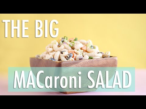 The BEST Macaroni Salad Ever! | Gluten-Free & Dairy-Free