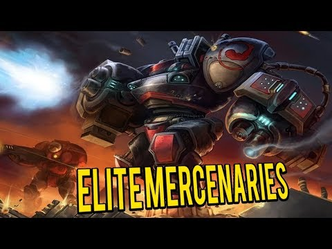 Elite Mercenaries! Customize your Own Armies - Starcraft 2 Mod
