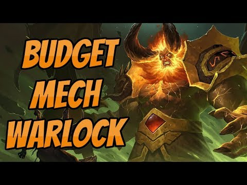 [Legend] Budget Mech Warlock | Rise of Shadows | Hearthstone