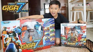 Tobot Giga 7 Seven Besar Banget & Bisa Bersuara - Superduper Ziyan
