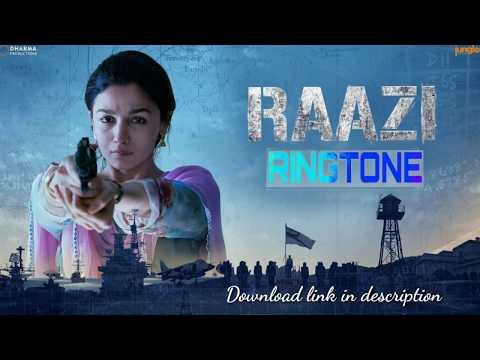 Raazi Ringtone | Aye Watan | Instrumental