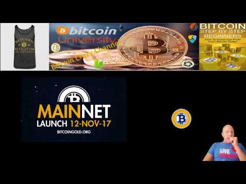 MainNet Launch (Bitcoin Gold) Mining Begins Today 7pm