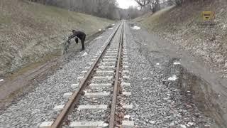 Прогулка по путям харьковской детской железной дороги