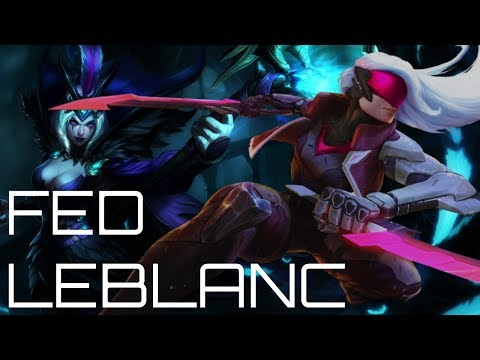 DEALING WITH FED LEBLANC - FULL MAGIC PENETRATION KATARINA - Master Tier Full Katarina Gameplay