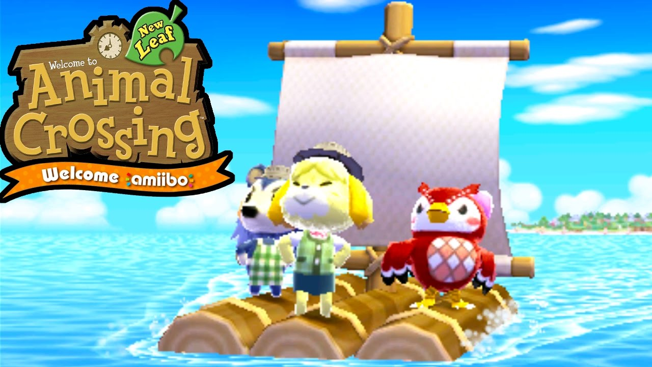 Desert Island Escape Animal Crossing New Leaf